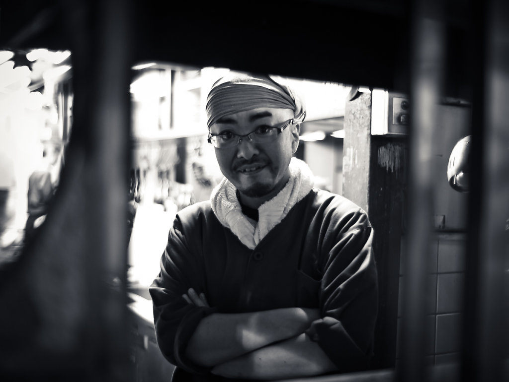 The Cook who busted me, Kabukichō 歌舞伎町