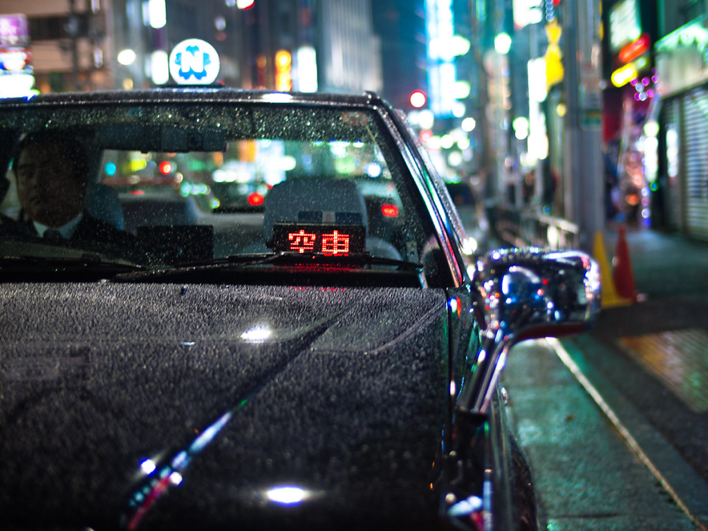 Taxidriver in Roppongi 六本木