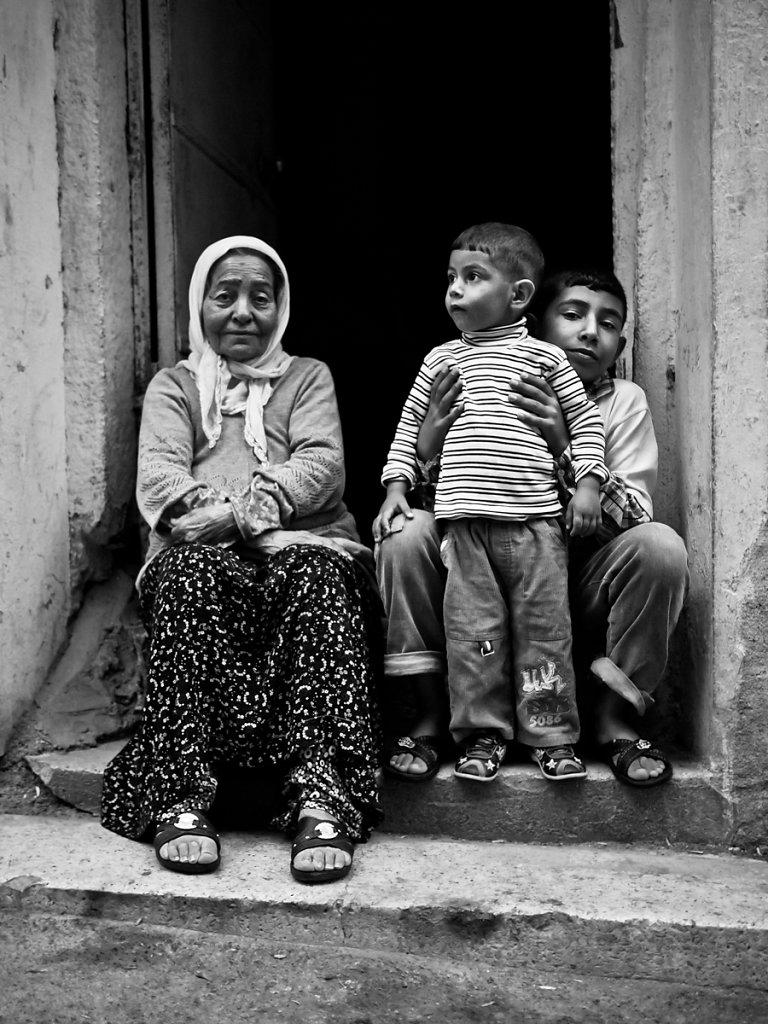 Grandma's pride and joy, Tarlabaşı - Istanbul