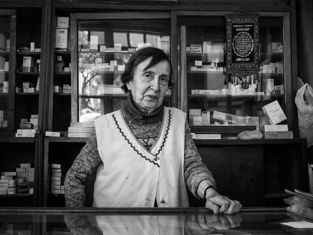 92 year-old pharmacist, Balat - Istanbul