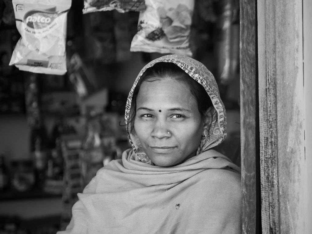 Kiosk owner, Village near Udaipur - Rajasthan