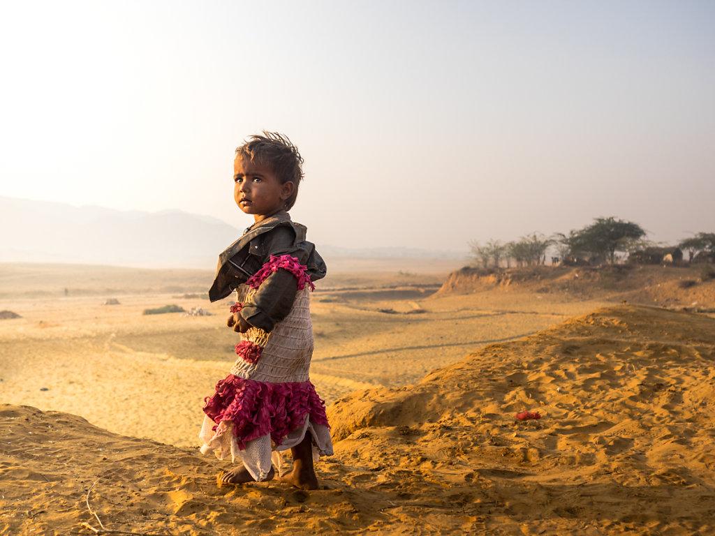 Village Kid I, Pushkar - Rajasthan