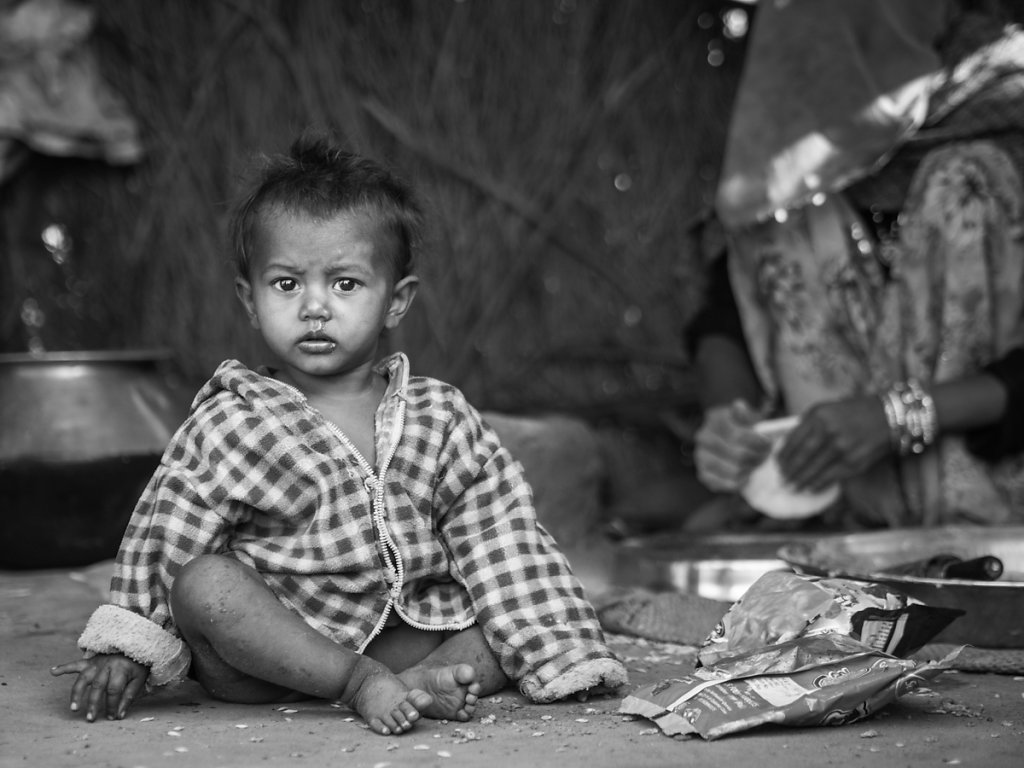 Village Kid II, Pushkar - Rajasthan