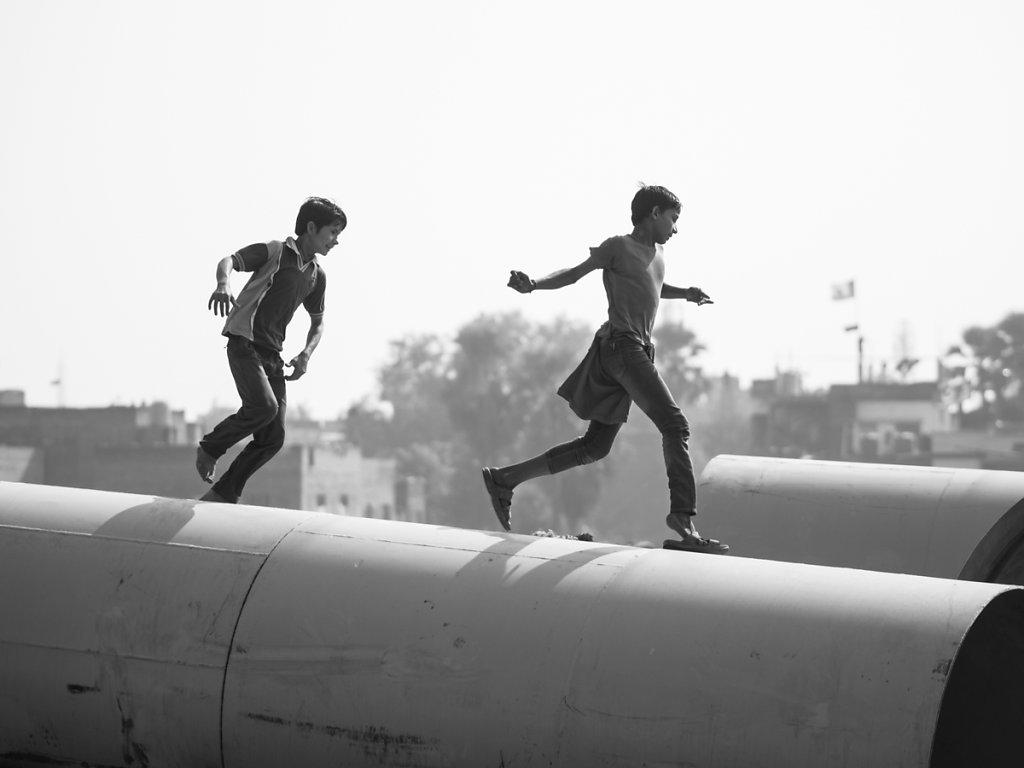 Children's playground, Varanasi - Uttar Pradesh