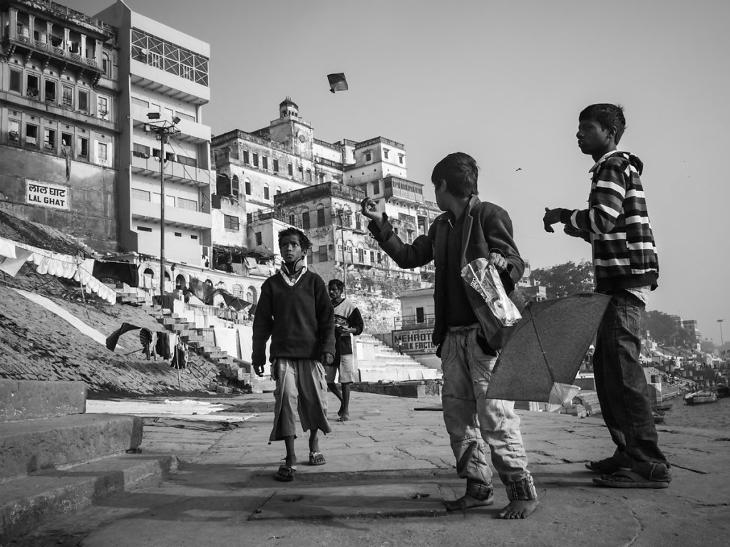 Kite Runners, Varanasi - Uttar Pradesh