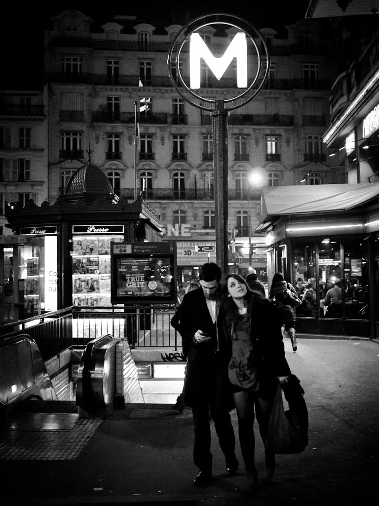 Will You Follow Me?, Montparnasse (Bienvenüe) - Paris