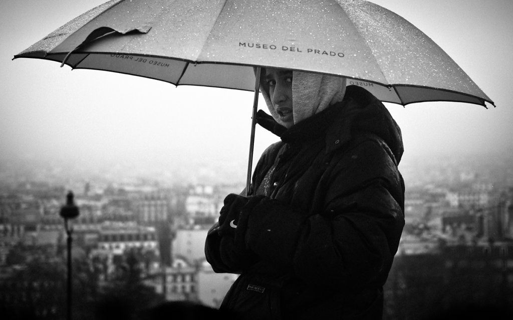 Keeper of the holy Umbrella, Sacré-Cœur de Montmartre - Paris