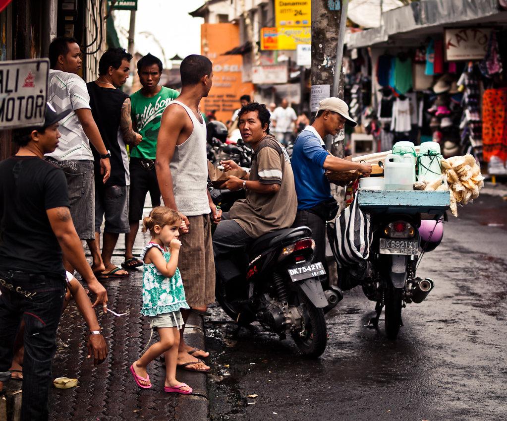 Corner Boys and that white kiddo, Simenyak - Bali