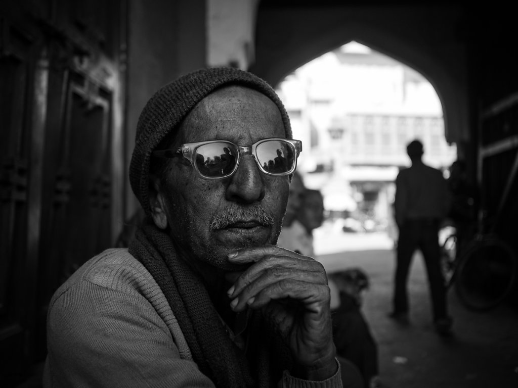 Man with stylish sun glasses, Jodhpur - Rajasthan