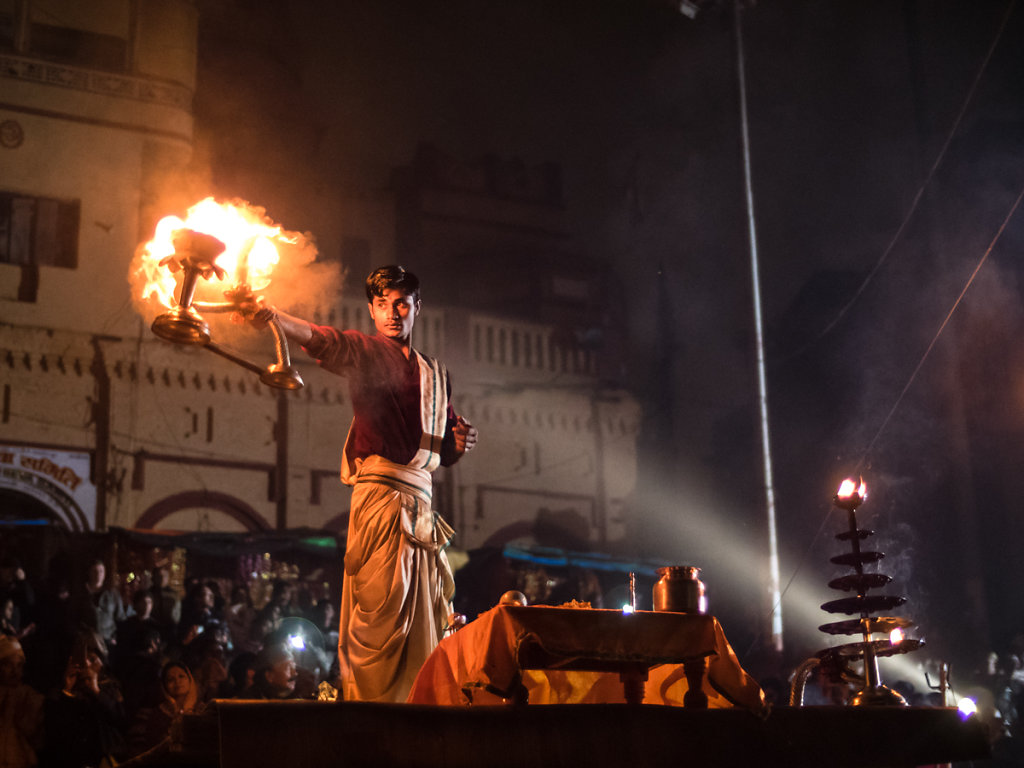 Ganga Aarti, Varanasi - Uttar Pradesh